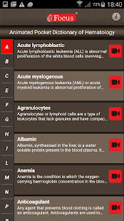 Hematology - Medical Dict.- screenshot thumbnail