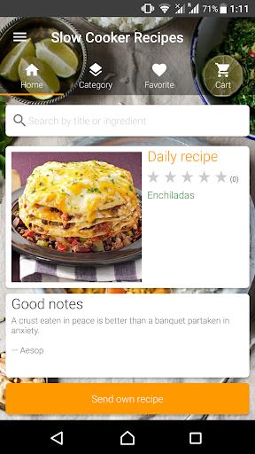 Slow Cooker Recipes Screenshot