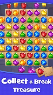 Jewel & Gems Mod Apk – Gems and Jewels Matching Adventure 3