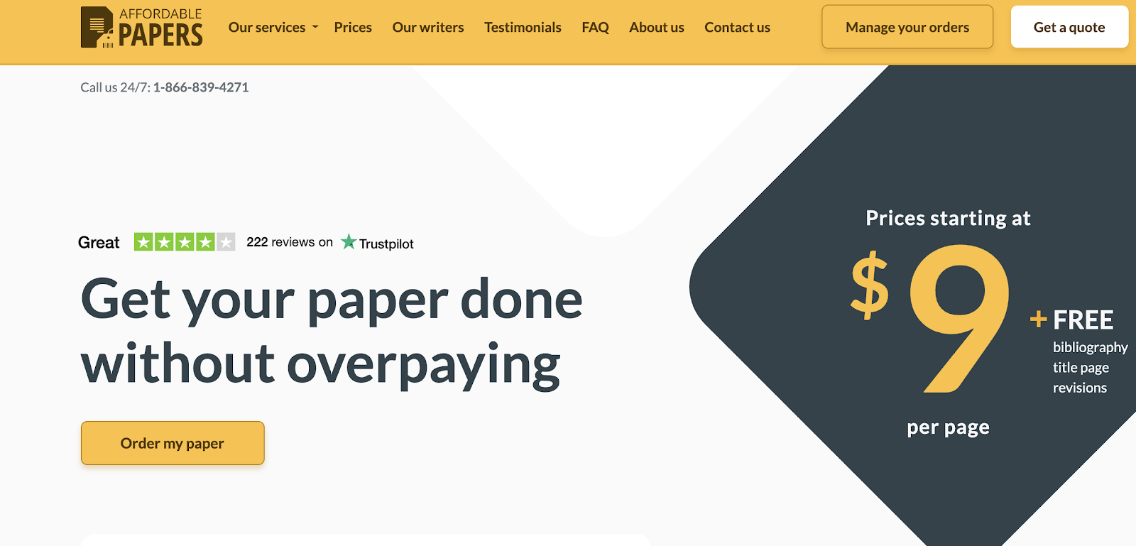 AffordablePapers com review - Top Results with a Reasonable