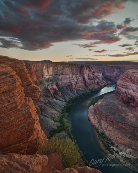 Photo: Horseshoe Bend and the Colorado River near Page, Arizona.
