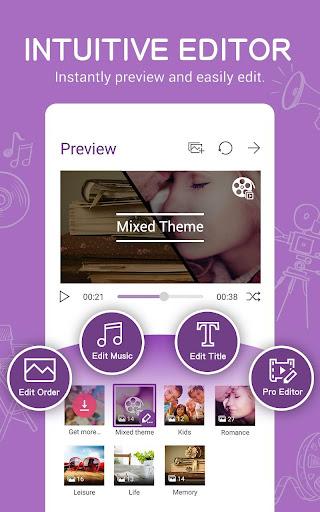 MiniMovie-Slideshow Video Edit screenshot 3