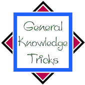 General Knowledge Tricks 2016