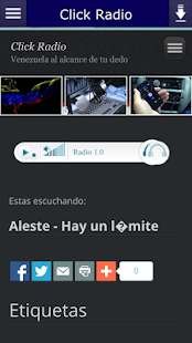 Click Radio- screenshot thumbnail