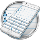 Dialer FrameWhite Blue Theme icon