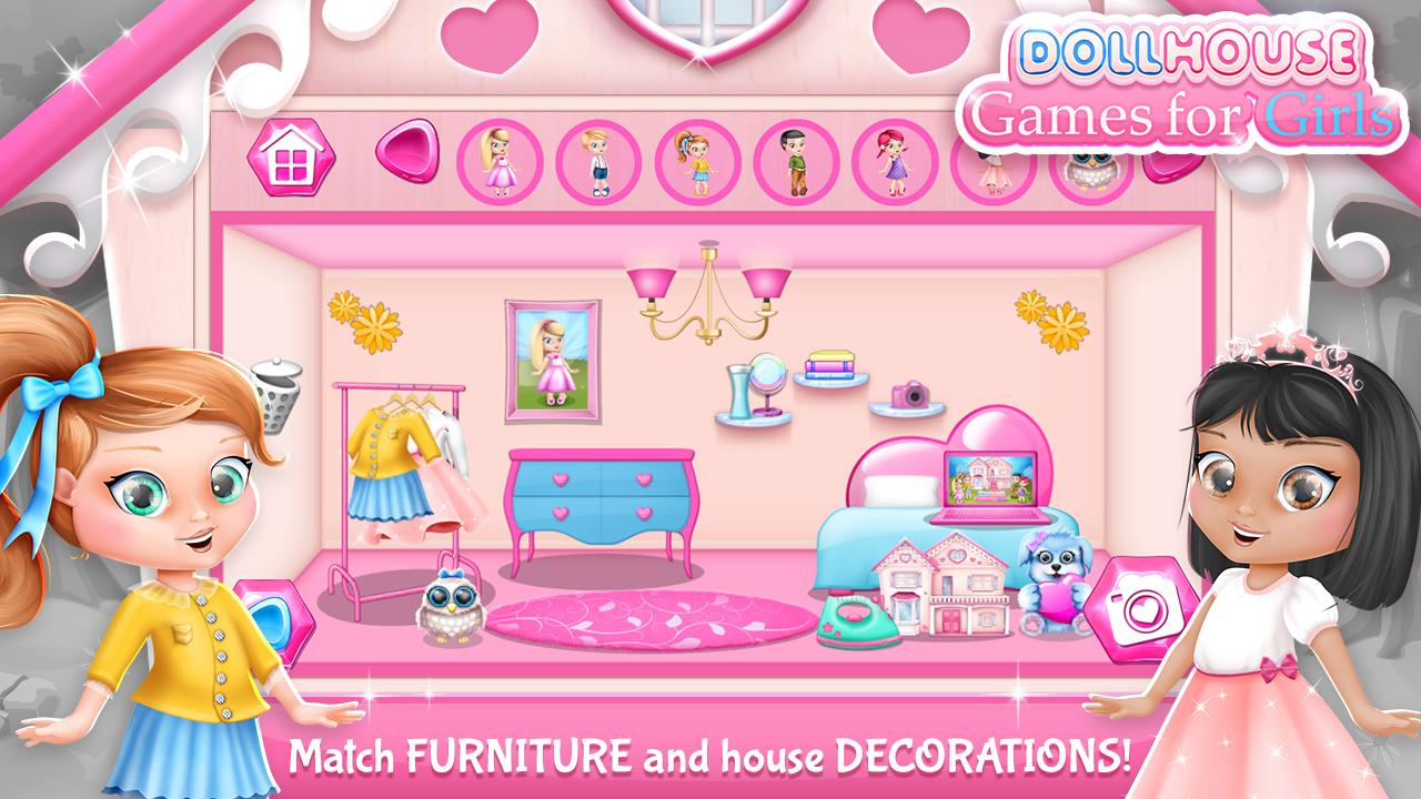 dollhouse decorating games - android apps on google play