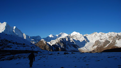 Photo: Kharta Valley, an early start for the Lalung La, one of THE most spectacular passes in all of the Himalaya!