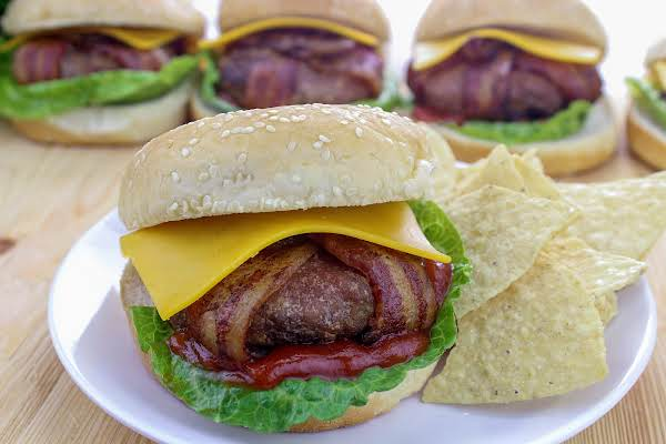 Bacon Wrapped Turkey Burgers Recipe