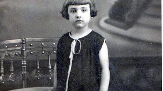 Matildita Morales en una imagen de la infancia.