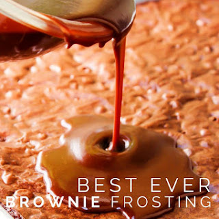 Best Ever Brownie Frosting.
