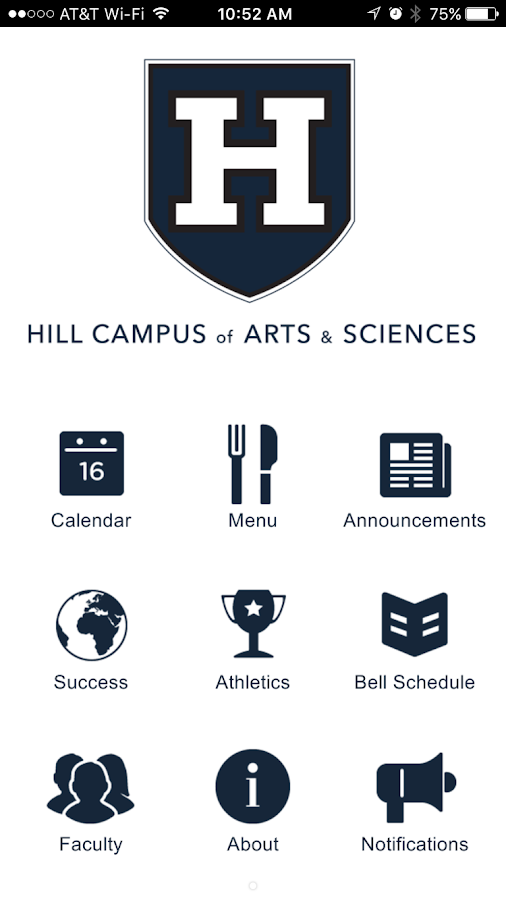 Hill Campus of Arts & Sciences- screenshot
