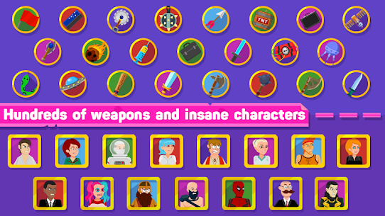 Ragdoll Warriors: Crazy Fighting Game Apk Download For Android and Iphone 6