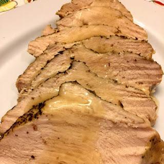 Easy Crockpot Turkey Breast.