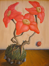 "Photo: ""Still life with ladybug"" (Oil on canvas)"