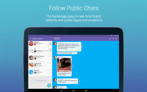Viber Messenger app (apk) free download for Android/PC/Windows screenshot