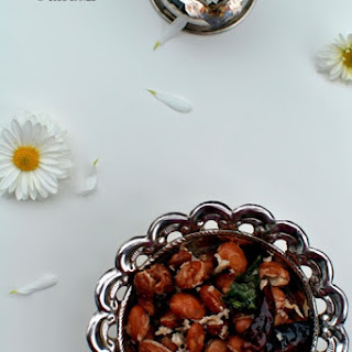 Pinto Beans Sundal ~ Pinto Beans Stir Fried with Coconut