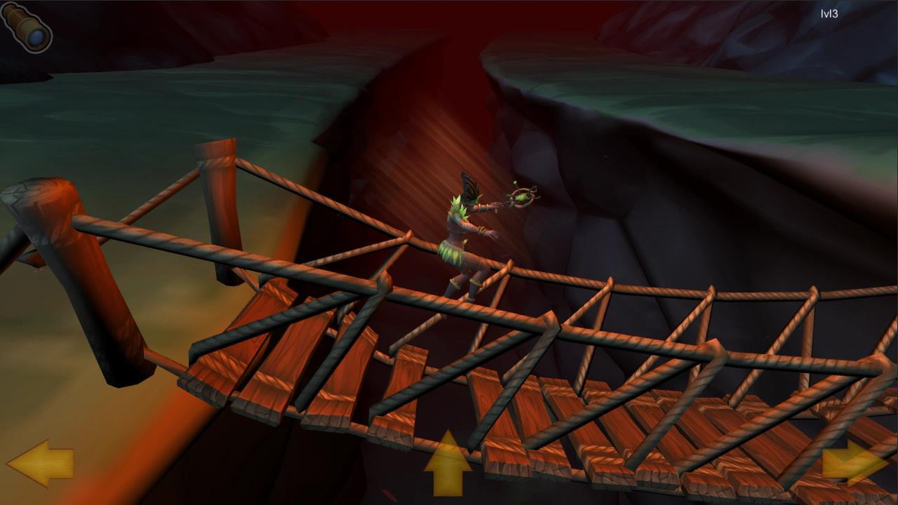 Rope Bridge Pit Balance- screenshot