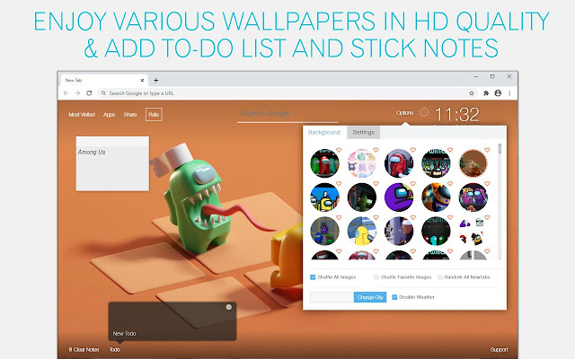 Among Us Impostors Wallpaper HD Mafia Boardgame New Tab