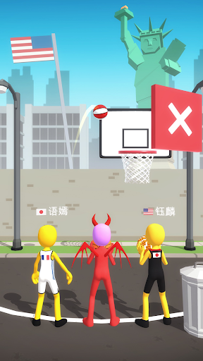 Five Hoops - Basketball Game 17 screenshots 2