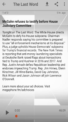 Lawrence O'Donnell Podcast, Daily Update cheat hacks