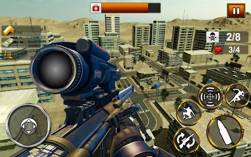 Elite Sniper War 2018: Free Shooting Games - náhled