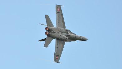 Photo: Szwajcarski F-18 Hornet