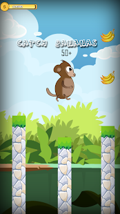 Monkey Jump for Bananas - náhled