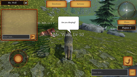 Wolf Simulator Evolution Mod Apk Download For Android and Iphone 7