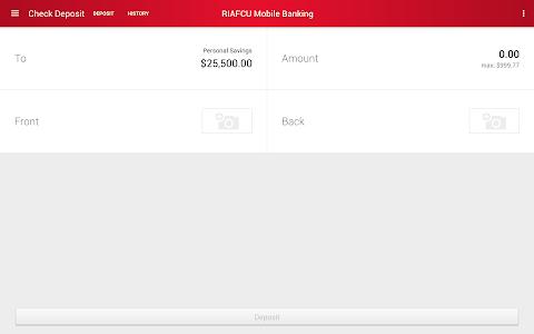 RIAFCU Mobile Banking screenshot 19