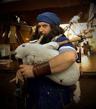 Photo: Con la gaita-perro-conejo
