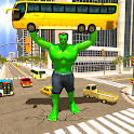 Incredible Monster City Hero Battle Mission 2021 icon