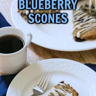 Blueberry Coconut Flour Scones Recipe