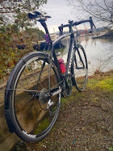 Photo: A winter on a Roubaix with Fenders