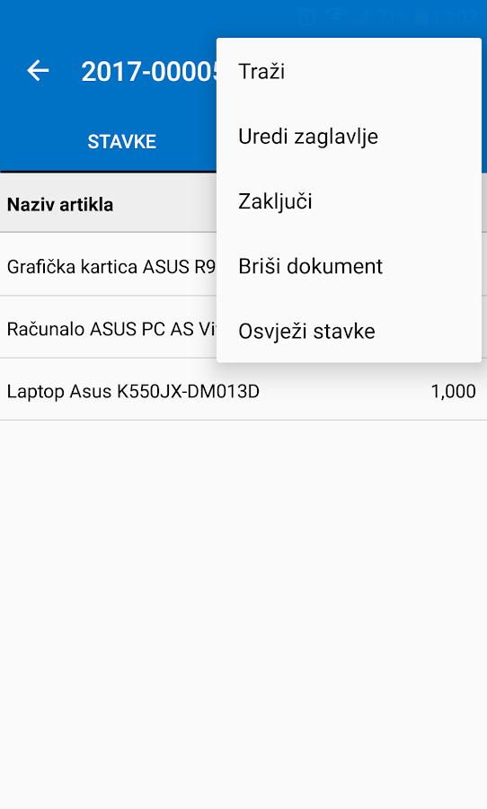 IPIS Skladištar- screenshot
