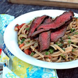 Carne Asada Udon Noodle Salad