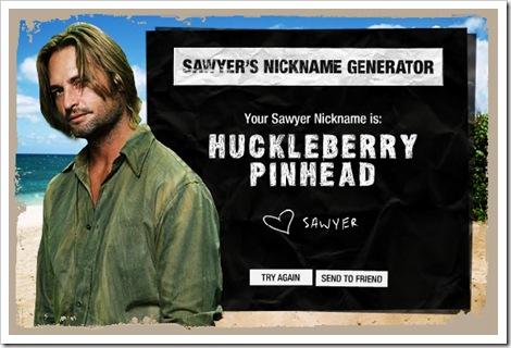 sawyer nickname generator
