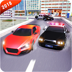 Hot police pursuits-Driving chase police