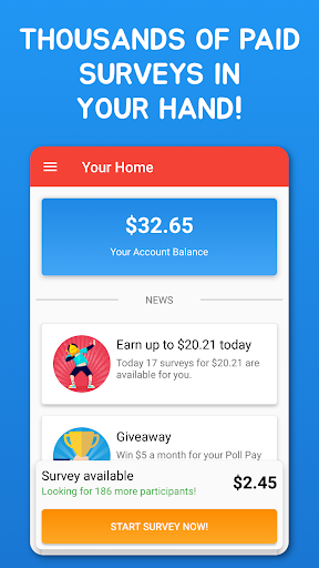 Poll Pay: Earn money with surveys 1.4.6 screenshots 3