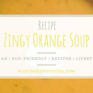 Zingy Orange Soup