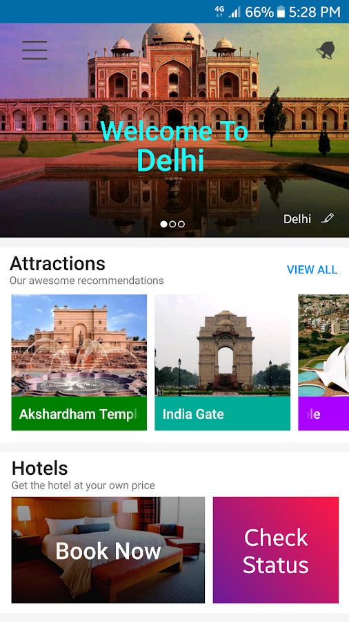 App that Travel with You- India's Travel Ecosystem- screenshot