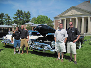 Photo: The staff at Quality Body and Fender in Fultonville that restored the Buick