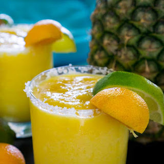 Frozen Pineapple Margarita.