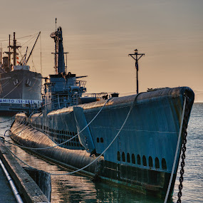 Submarine San Francisco, CA by Dirk Dreyer - Transportation Other ( san_francisco, submarine,  )