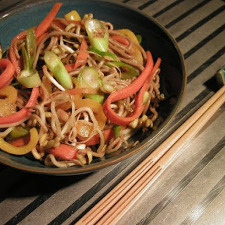 Vegetable Soba noodles