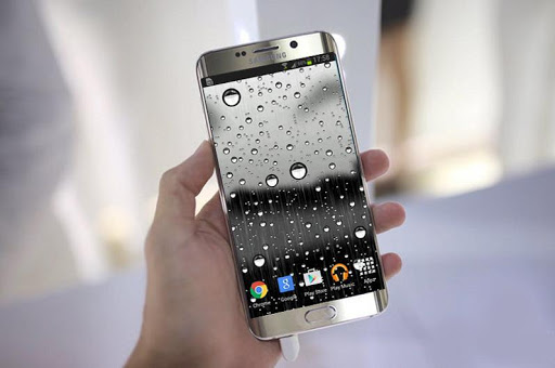 Glass Raindrops Live Wallpaper