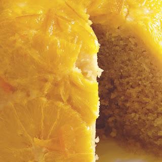 Steamed Orange Cake