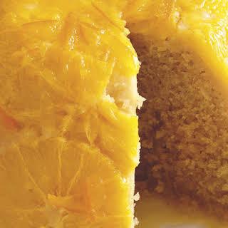 Steamed Orange Cake.