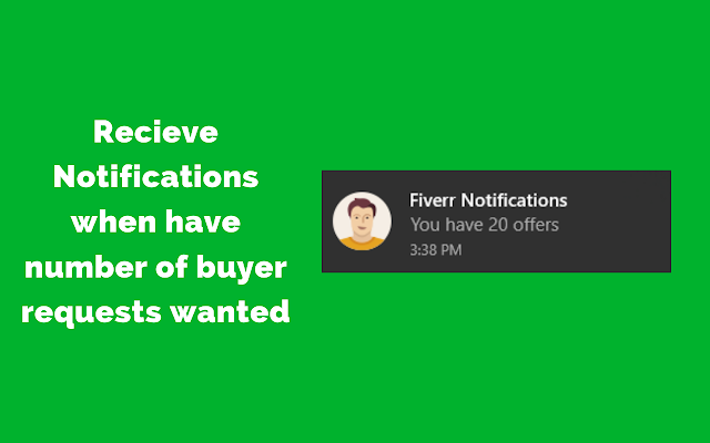 UnOfficial Fiverr Notifications