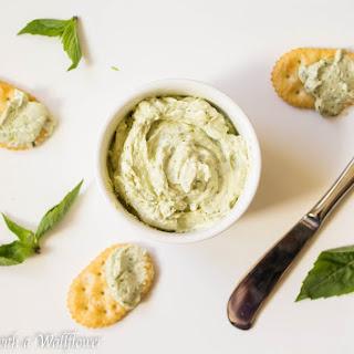 Creamy Basil Pesto Dip