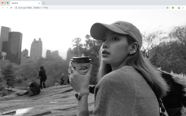 LISA New Tab Page Custom Wallpaper HD